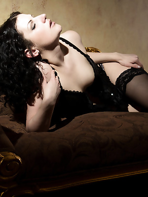 The Life Erotic  Zoe D  Erotic, Softcore, Ebony, Lingerie, Stockings